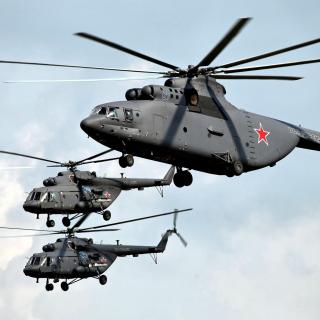 Mi 26 Giant Helicopter - Obrázkek zdarma pro iPad 2