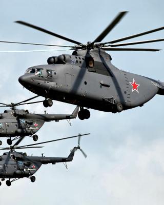 Mi 26 Giant Helicopter - Obrázkek zdarma pro Nokia Asha 502