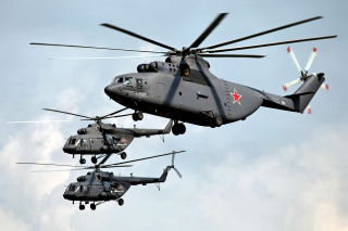 Free Mi 26 Giant Helicopter Picture for Android, iPhone and iPad