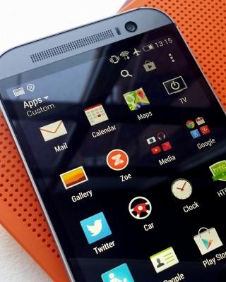HTC One M8 Smartphone - Obrázkek zdarma pro 768x1280