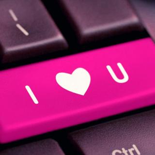 I Love You Hi Tech Style - Obrázkek zdarma pro 320x320