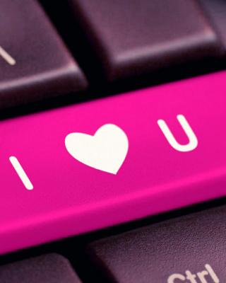 I Love You Hi Tech Style - Obrázkek zdarma pro Nokia Asha 202