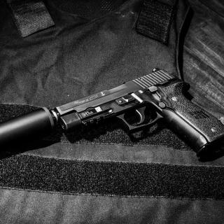 Pistol SigSauer P226 - Obrázkek zdarma pro iPad mini