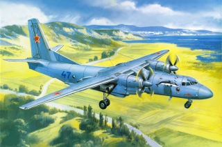 Free Antonov An 24 Airplane Picture for Android, iPhone and iPad