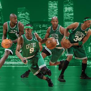 Boston Celtics NBA Team - Obrázkek zdarma pro 1024x1024