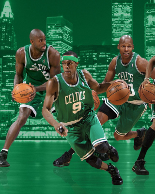 Boston Celtics NBA Team - Obrázkek zdarma pro Nokia Asha 502
