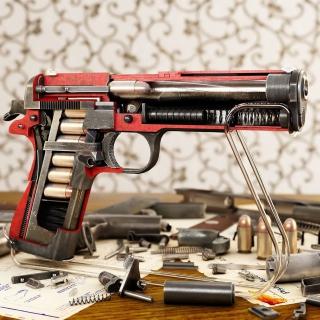 M1911 Pistol Colt-Browning - Obrázkek zdarma pro iPad mini