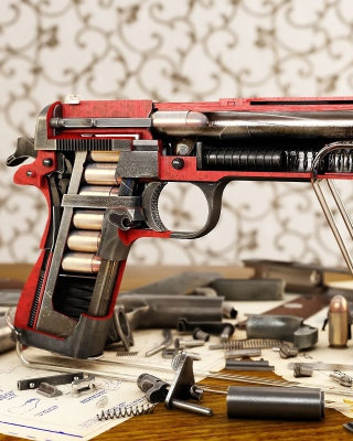 M1911 Pistol Colt-Browning - Obrázkek zdarma pro Nokia Asha 502
