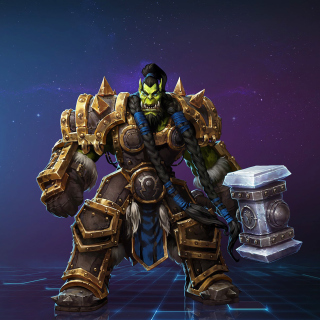 Heroes of the Storm multiplayer online battle arena video game - Obrázkek zdarma pro 1024x1024
