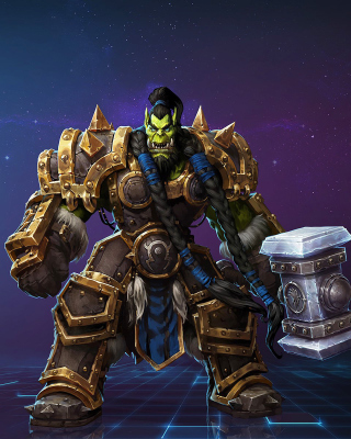 Heroes of the Storm multiplayer online battle arena video game - Obrázkek zdarma pro 768x1280