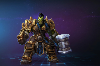 Heroes of the Storm multiplayer online battle arena video game - Obrázkek zdarma pro LG Optimus M