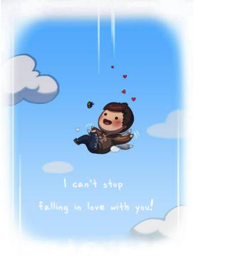 Love Is - I Cant Stop - Obrázkek zdarma pro 352x416