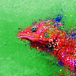 Lizard King - Obrázkek zdarma pro iPad 2