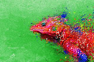 Lizard King - Obrázkek zdarma pro Nokia Asha 200