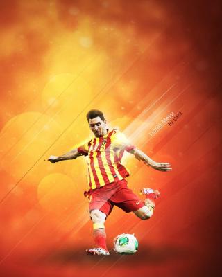 Lionel Messi - Obrázkek zdarma pro Nokia X7