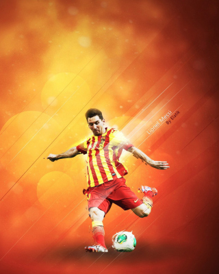 Lionel Messi - Obrázkek zdarma pro iPhone 5