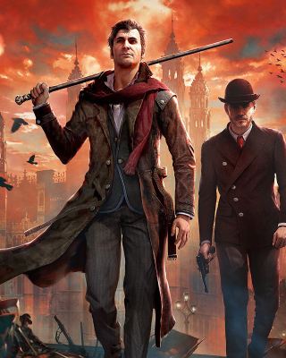 Sherlock Holmes Crimes & Punishments Game sfondi gratuiti per Nokia Asha 306