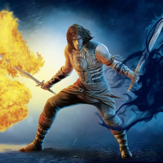 Prince Of Persia 2 Shadow And Flame - Obrázkek zdarma pro 320x320