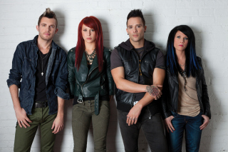 Skillet Music Band Background for Huawei M865