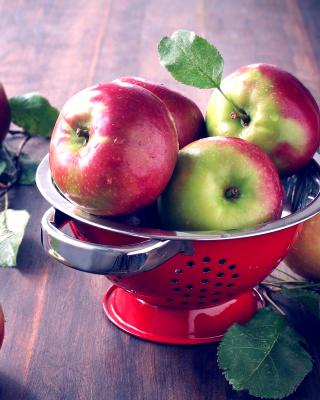 Autumn apple harvest - Obrázkek zdarma pro Nokia C2-05