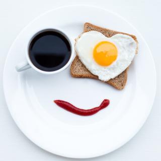 Breakfast Design - Obrázkek zdarma pro iPad