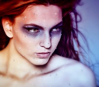 Sparkling Makeup - Obrázkek zdarma pro 128x128