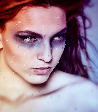 Sparkling Makeup - Obrázkek zdarma pro Nokia Lumia 610
