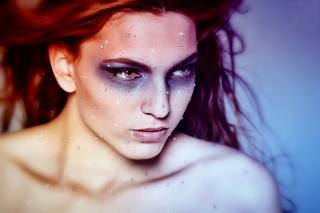 Sparkling Makeup - Obrázkek zdarma pro Motorola DROID 3