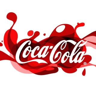 Coca Cola Logo - Obrázkek zdarma pro 128x128