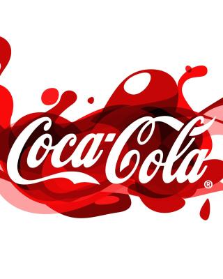 Coca Cola Logo - Obrázkek zdarma pro iPhone 5C