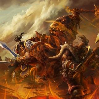 World of Warcraft Battle - Obrázkek zdarma pro iPad Air