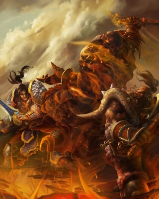 World of Warcraft Battle - Obrázkek zdarma pro iPhone 5
