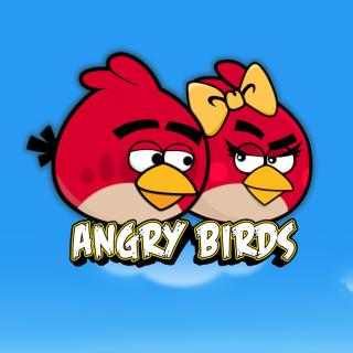 Angry Birds Love - Obrázkek zdarma pro iPad