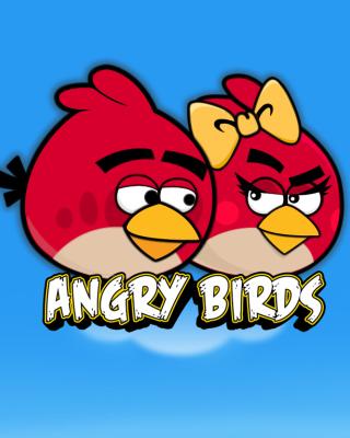Angry Birds Love - Obrázkek zdarma pro Nokia 300 Asha