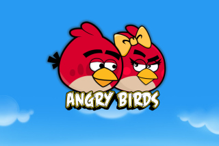 Angry Birds Love Background for Android, iPhone and iPad