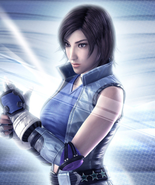 Asuka Kazama Tekken - Obrázkek zdarma pro Nokia C-Series