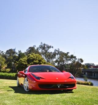Red Ferrari - Obrázkek zdarma pro iPad