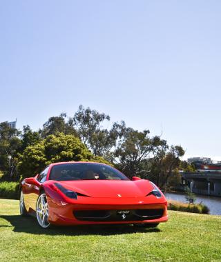 Red Ferrari - Obrázkek zdarma pro iPhone 5