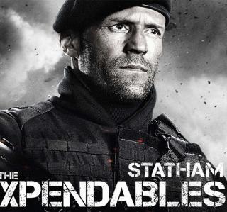 The Expendables 2 - Jason Statham - Obrázkek zdarma pro iPad mini