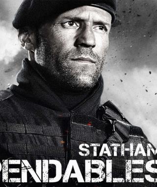 The Expendables 2 - Jason Statham - Obrázkek zdarma pro 128x160