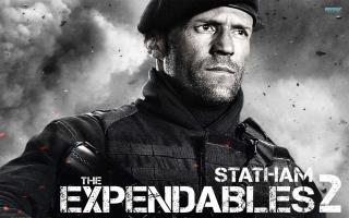 The Expendables 2 - Jason Statham - Obrázkek zdarma pro Sony Tablet S