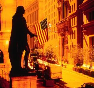 Wall Street - New York USA - Obrázkek zdarma pro iPad 2