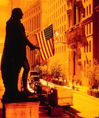 Wall Street - New York USA - Obrázkek zdarma pro Nokia Asha 203
