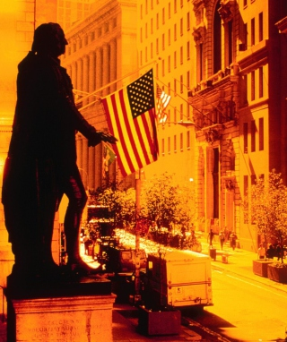 Wall Street - New York USA - Obrázkek zdarma pro Nokia X1-01