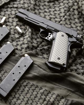 Colt Automatic Pistol M1911 - Obrázkek zdarma pro Nokia 206 Asha