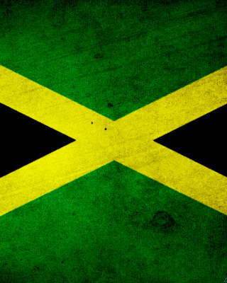 Jamaica Flag Grunge - Obrázkek zdarma pro Nokia C2-06
