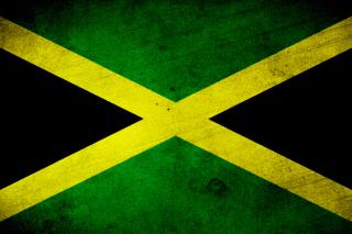 Jamaica Flag Grunge - Obrázkek zdarma pro HTC One