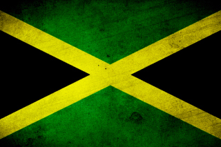 Jamaica Flag Grunge - Obrázkek zdarma pro Widescreen Desktop PC 1600x900