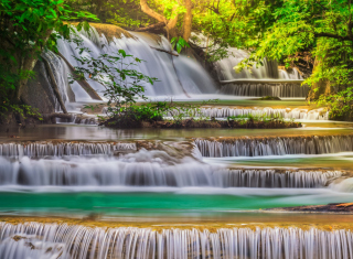 Waterfall - Obrázkek zdarma pro Android 2560x1600