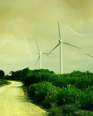 Wind turbine - Obrázkek zdarma pro 640x960